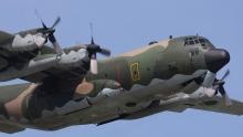 Military transport aircraft