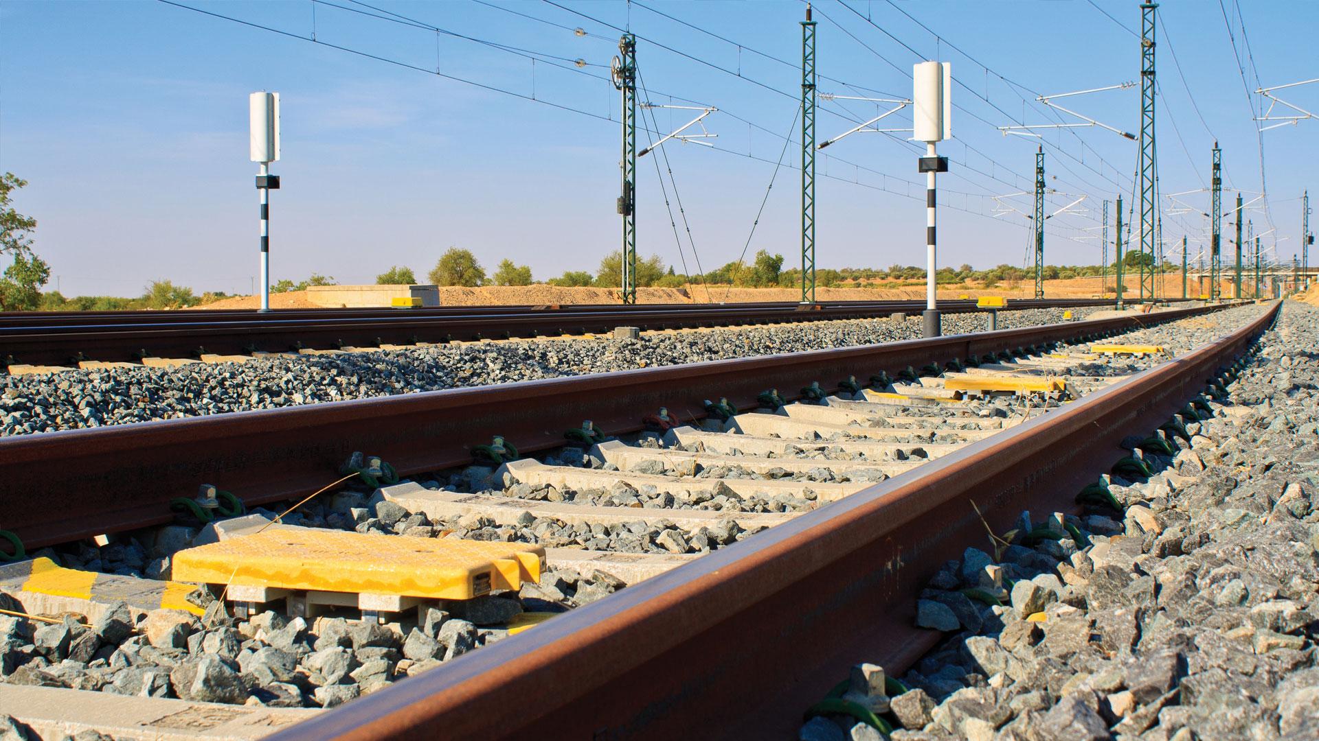Connectors for railway