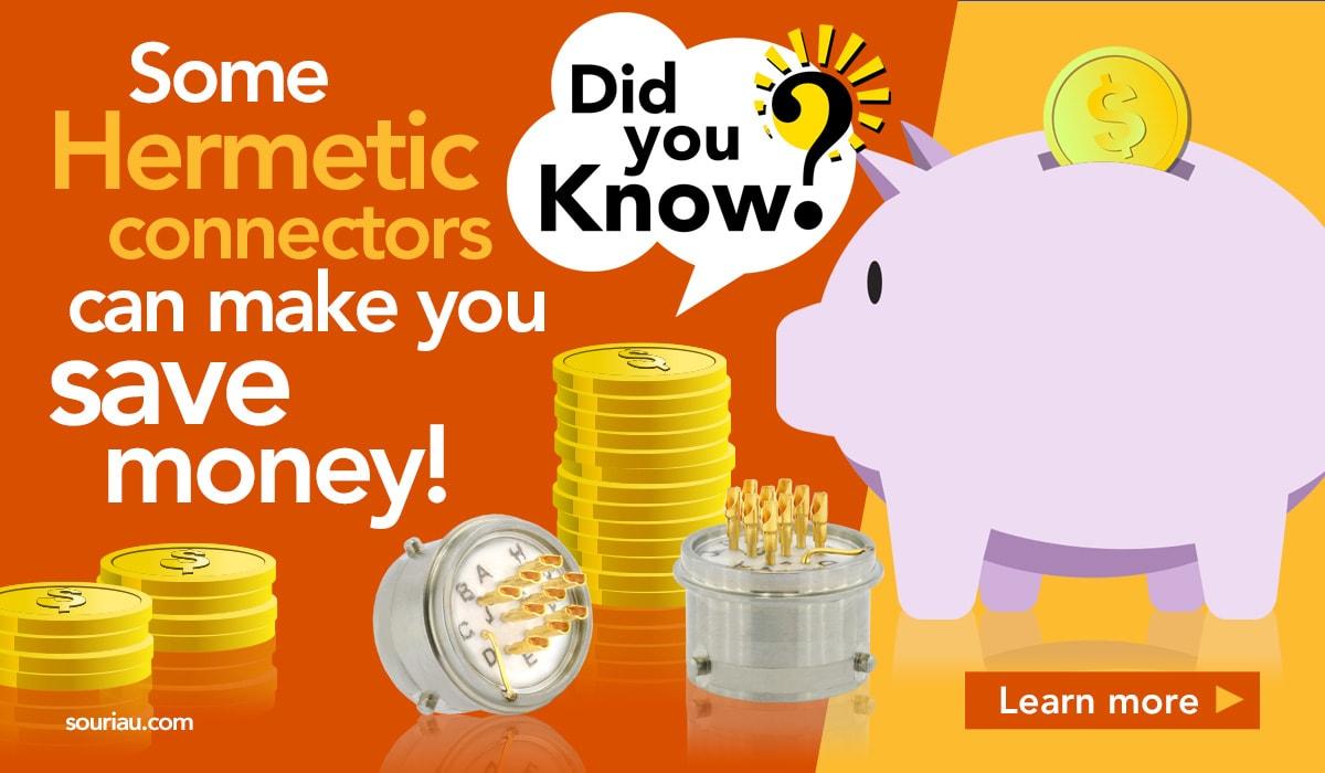 Hermetics save money