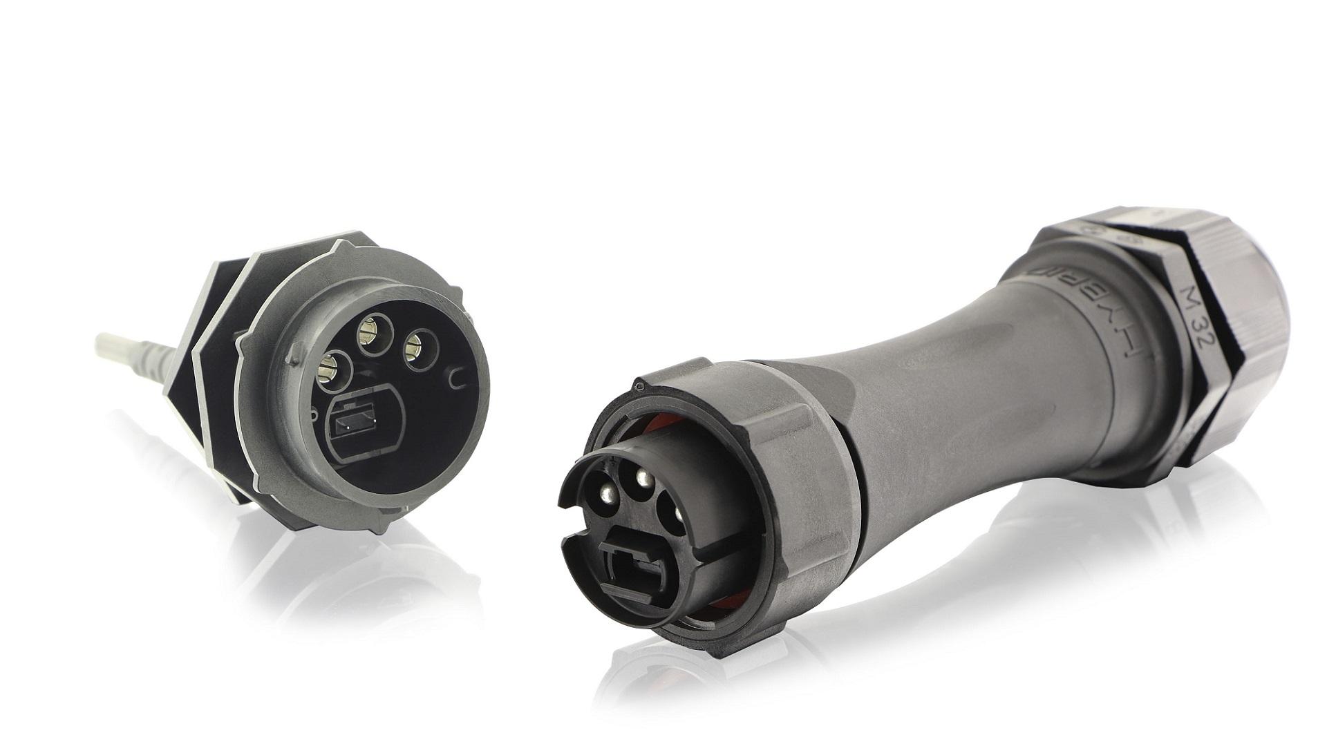 UTS Hybrid Fiber Copper Connector