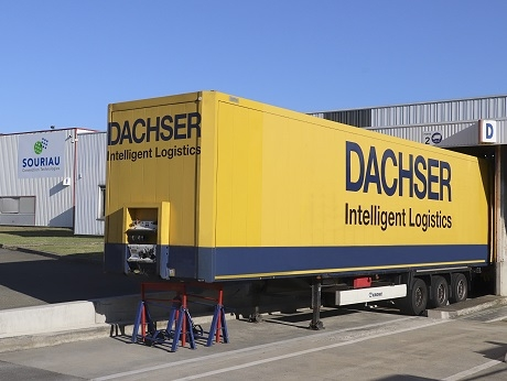 SOURIAU-SUNBANK Logistics Agreement with Dachser