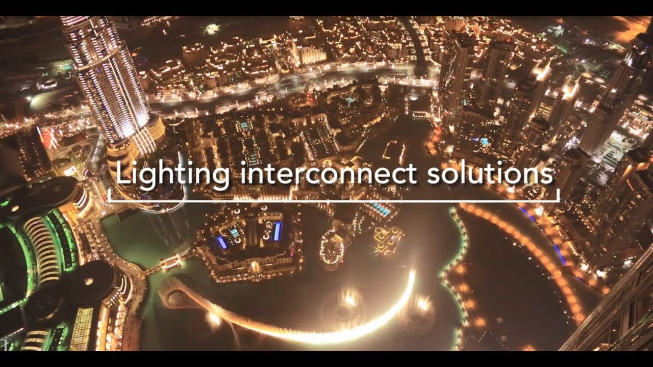 Lighting interconnect solutions
